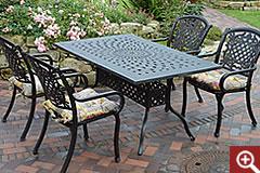 aluguss gartenm bel fachgesch ft gro mann strandk rbe. Black Bedroom Furniture Sets. Home Design Ideas