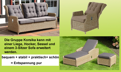 gartenm bel korsika my blog. Black Bedroom Furniture Sets. Home Design Ideas
